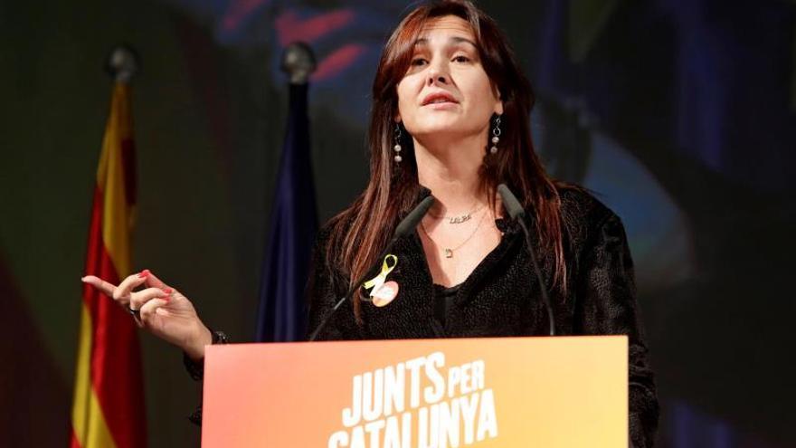 Laura Borràs (JxCat) es consellera de Cultura desde el pasado junio