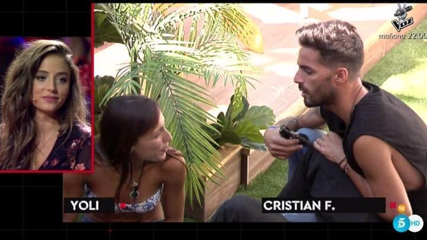 Así era la criticada relación de Cristian F y Laura antes de GH Revolution