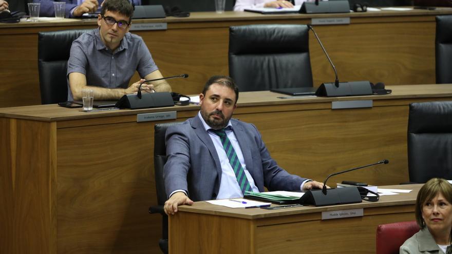 Unai Hualde realiza el miércoles y jueves la consulta para proponer candidatura a la Presidencia de Navarra