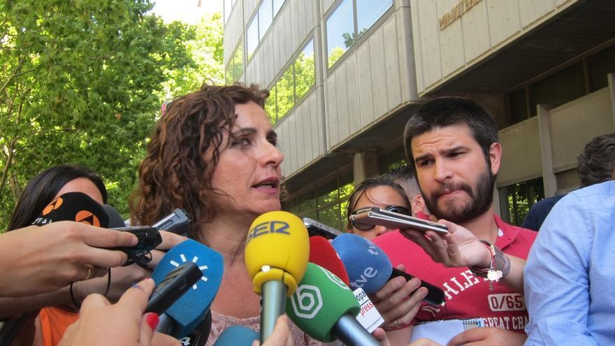 Montero se reúne este miércoles con diputados de PP-A para explicarles su metodología de aplicación de la regla de gasto