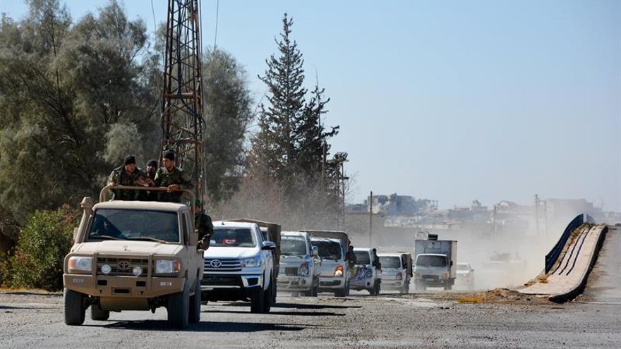 Mueren 22 personas en un bombardeo contra la zona controlada por las autoridades sirias