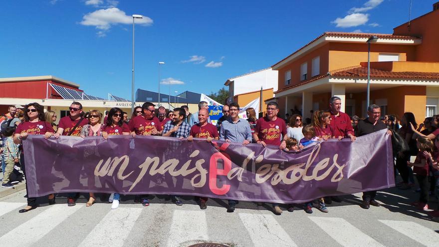El conseller d'Educació, Vicent Marzà, ha participat en la Trobada d'Escoles en Valencià celebrada a Montaverner