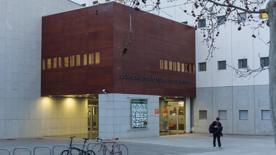 Conservatorio Superior de Música de Aragón.