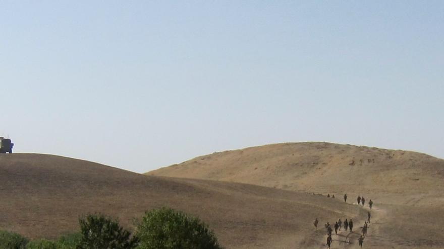 El paracaidista español herido en Afganistán se encuentra bien
