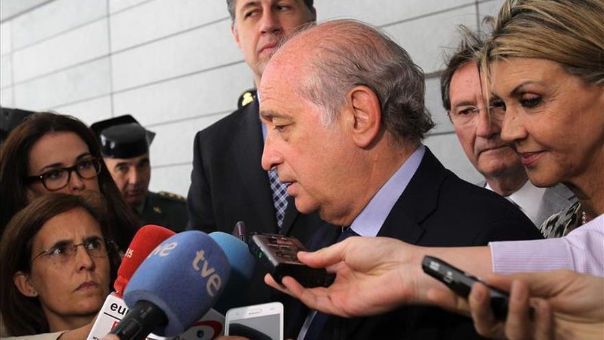 Fernández Díaz, orgulloso tras el descenso de la criminalidad