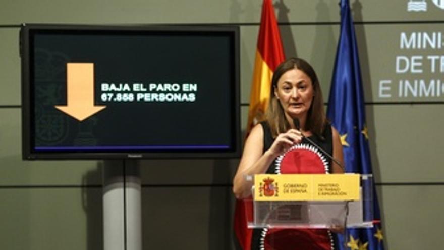La Secretaria De Estado De Empleo, Mari Luz Rodríguez