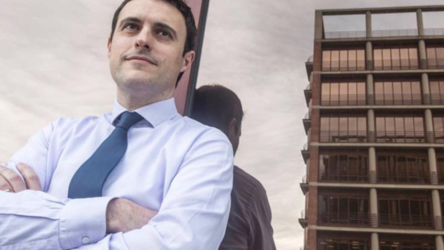 El diputado de Hacienda y Finanzas de Gipuzkoa, Jabier Larrañaga. Foto: Orain Gipuzkoa