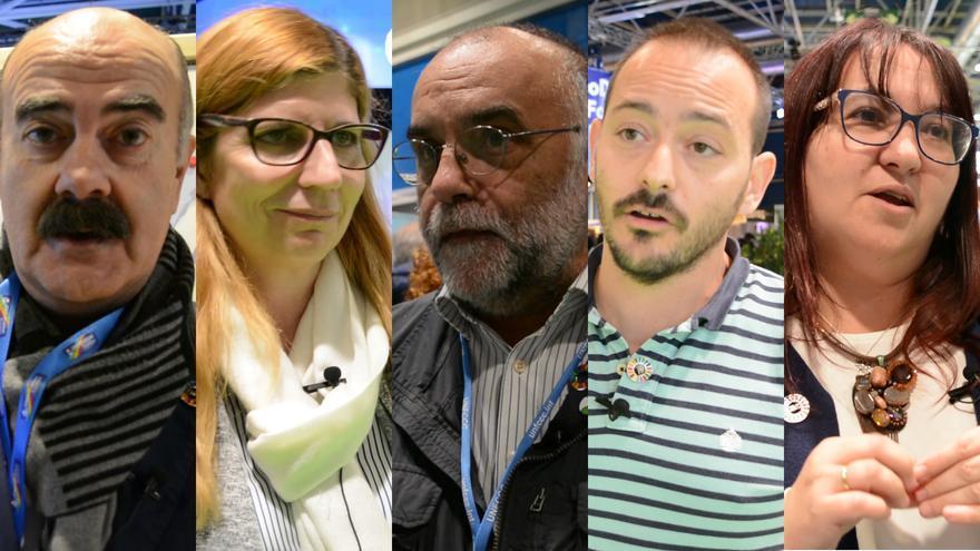 Científicos en la Cumbre del Clima de Madrid. / JOSÉ VERDUGO