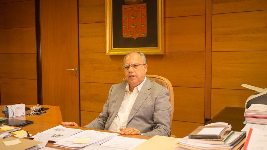 Casimiro Curbelo Curbelo secretario insular del PSOE de La Gomera
