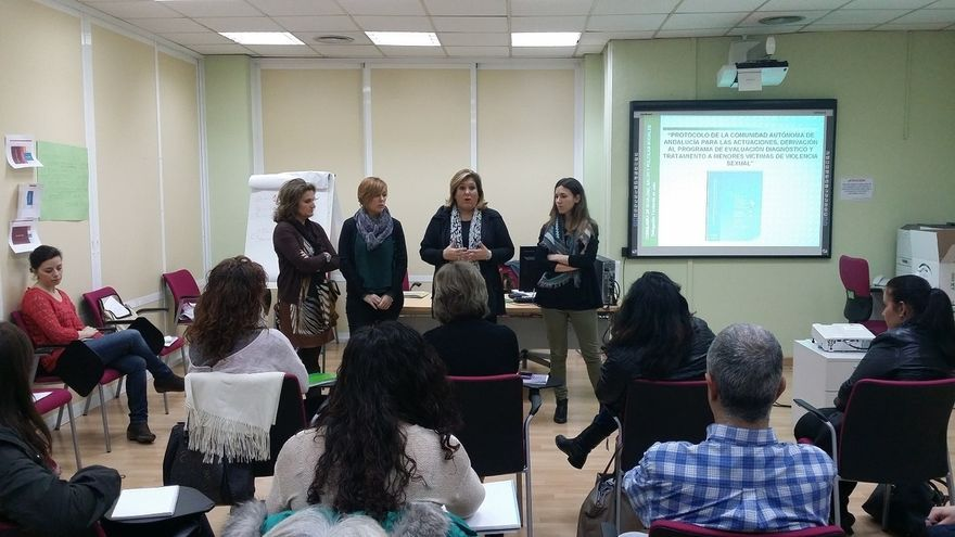 Más de 90 profesionales técnicos actualizan conocimientos en atención a menores víctimas de violencia sexual