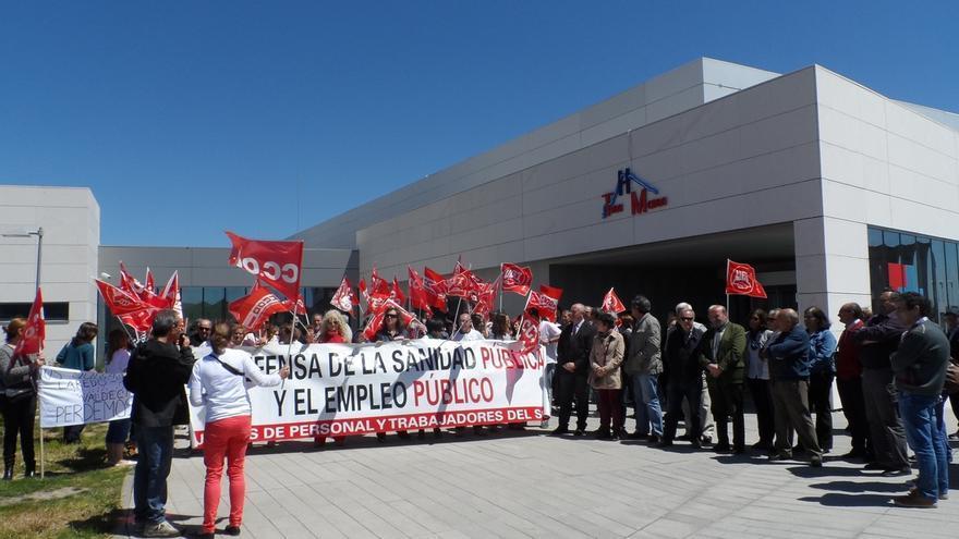 CCOO exige un convenio de colaboración en materia sanitaria entre Cantabria y Castilla y León