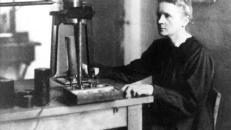 La vida de Marie Curie en viñetas de cómic