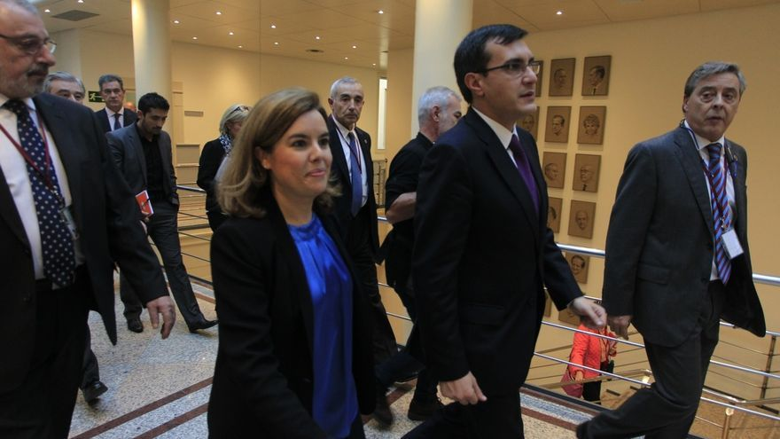 Santamaría asegura que el Gobierno trabaja por Asturias y recuerda a Javier Fernández que también es su responsabilidad