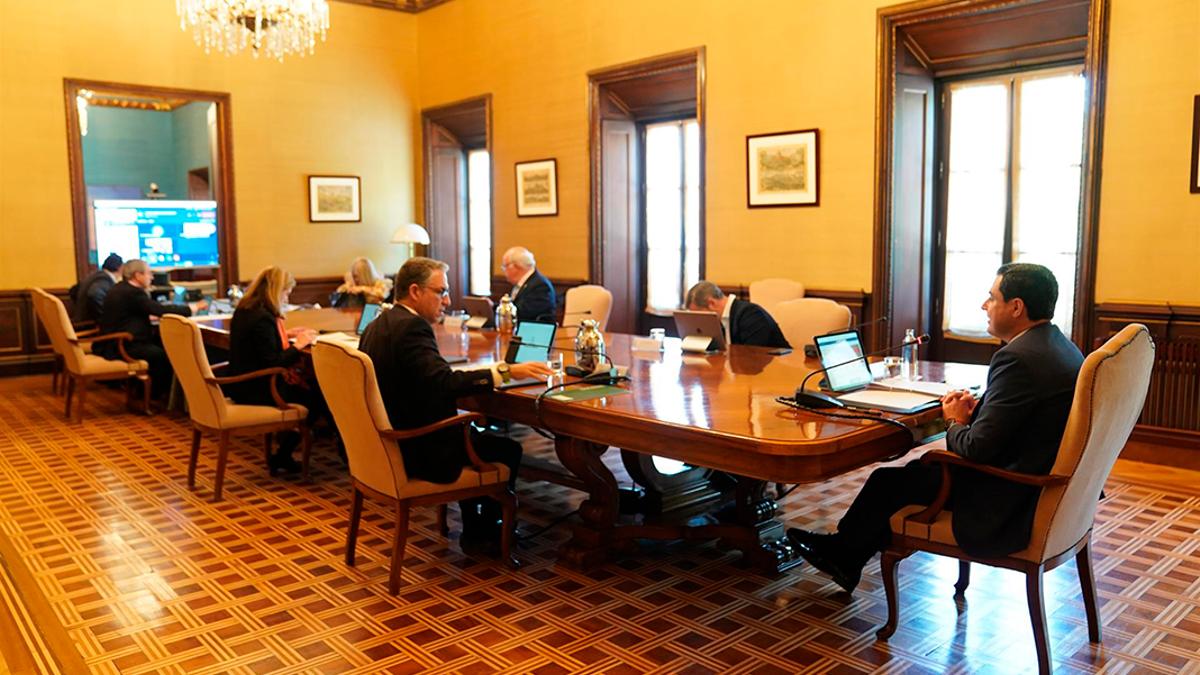 Reunión del Consejo de Gobierno andaluz.