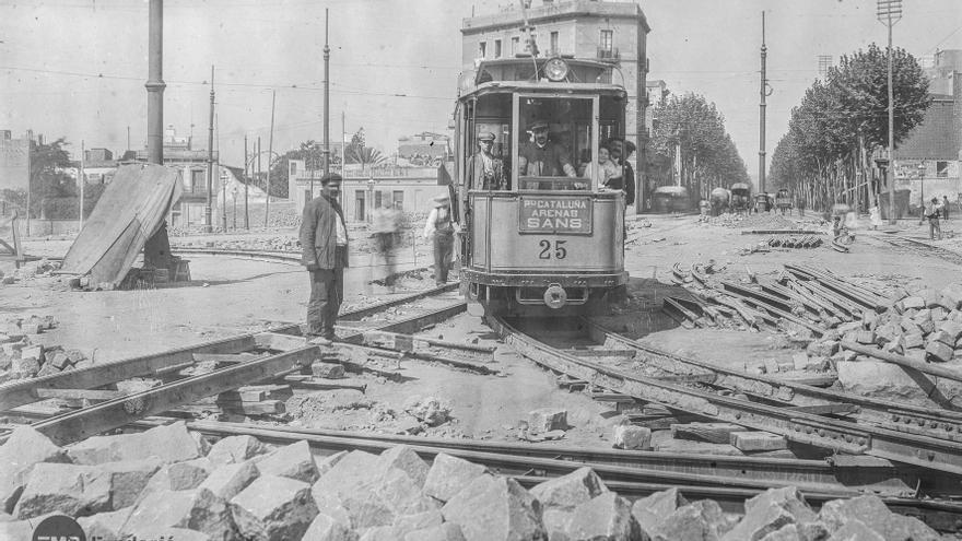 El tranvía fue el medio de transporte por excelencia hasta mediados del siglo XX
