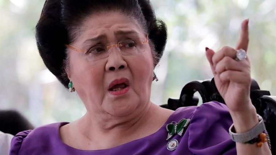 Imelda Marcos condenada a 11 años por delitos de corrupción en Filipinas