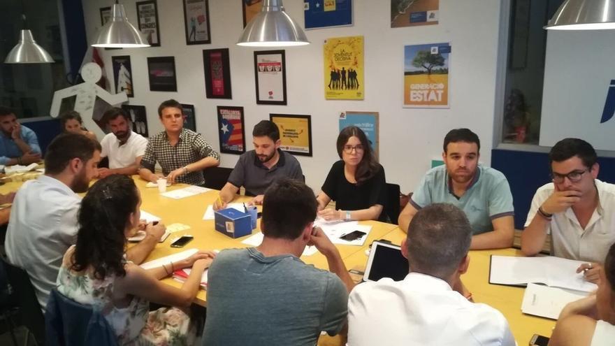 Las juventudes del PDeCAT reiteran su apoyo al Govern tras los cambios en las consejerías