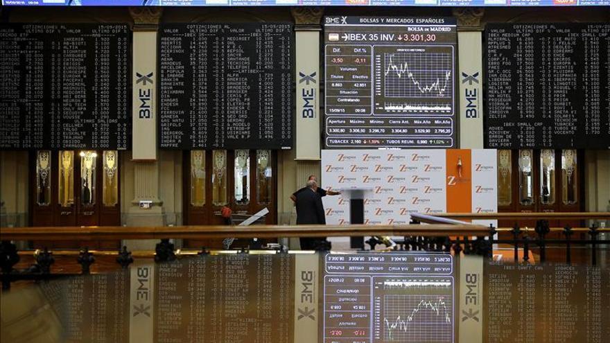 Las empresas del IBEX ganan hasta junio un 34 % más que un año antes