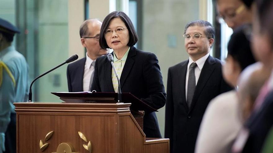 La Presidenta taiwanesa convoca una reunión de emergencia por el incidente del misil