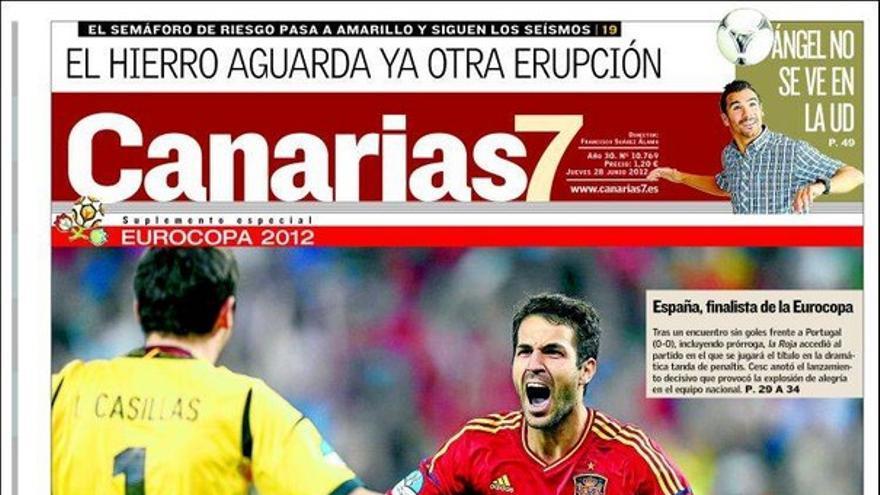De las portadas del día (28/06/2012) #2