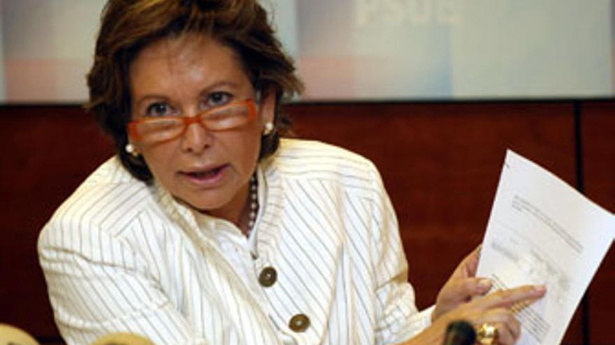 Paquita Luengo, diputada autonómica del PSC-PSOE.