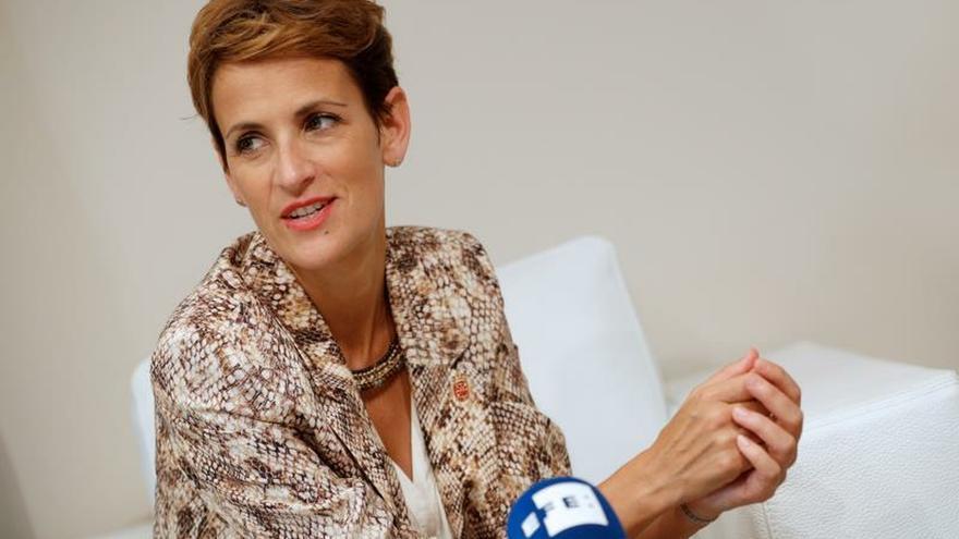 Chivite cree que hay tiempo para evitar las elecciones tras los gestos de Sánchez