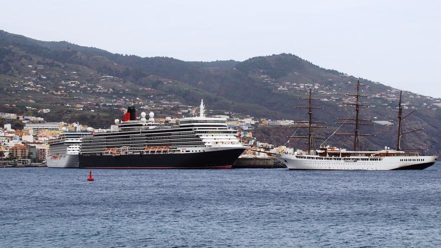 Imagen del Puerto de Santa Cruz de La Palma, este martes, 21 de noviembre de 2017. Foto: JOSE AYUT.