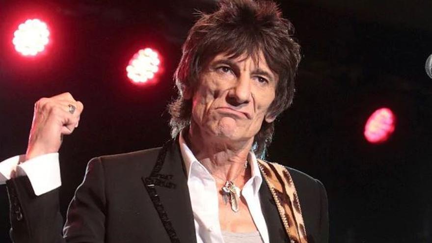 Ronnie Wood, guitarrista de los Rolling Stones