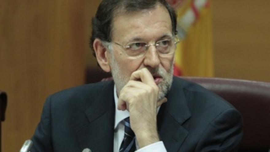 Presidente Del Gobierno, Mariano Rajoy, En El Senado