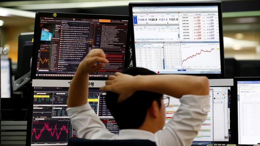 Seúl abre con una caída del 0,23 por ciento hasta los 2.003,41 puntos