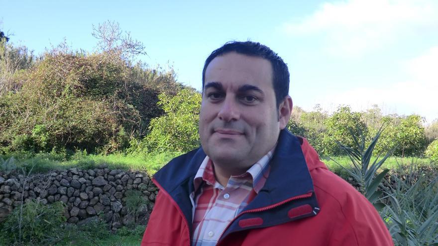 José Basilio Pérez, Consejero de Agricultura, Ganadería y Pesca del Cabildo de La Palma.