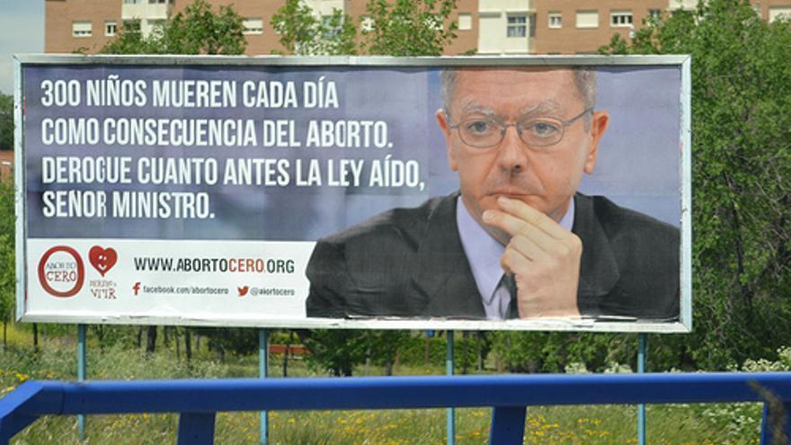 Campaña contra el aborto de Derecho a Vivir y Hazte Oír. / HazteOir.org