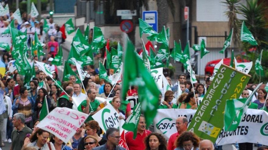 De la protesta de empleados públicos #6