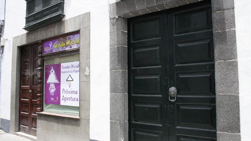 La tienda oficial de La Bajada (en la imagen) se encuentra en la Calle Pérez de Brito nº 11.