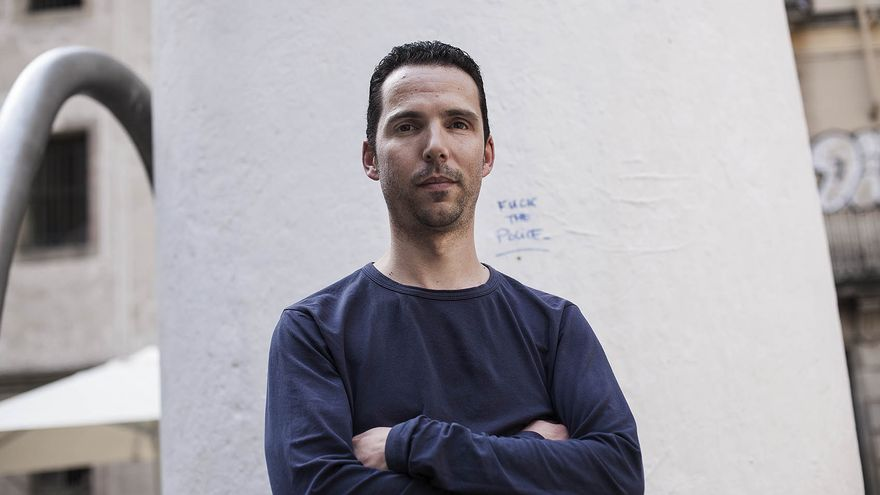 Òscar Alpuente perdió un ojo en 2009 tras una intervención de los antidisturbios de los Mossos