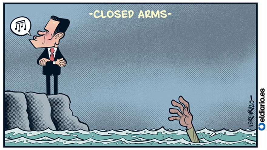 Closed arms