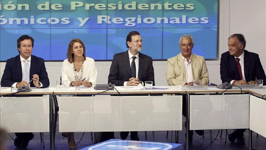 Rajoy busca hoy la unión de sus barones en el déficit tras revuelo de Aznar