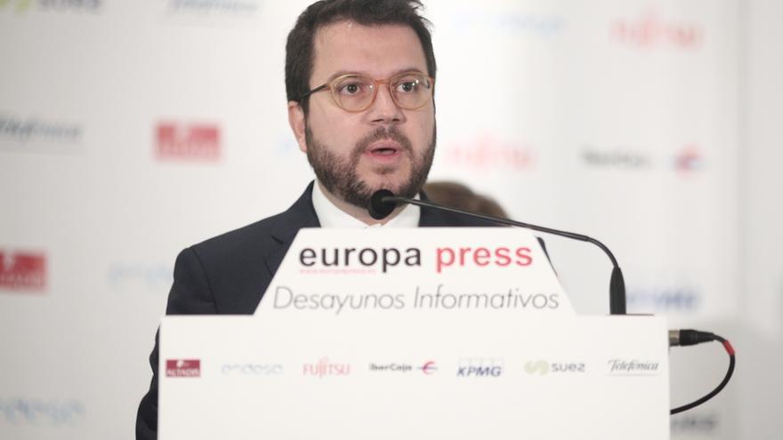 Aragonés propone una mesa de diálogo sin condiciones previas, sin vetos y con garantías de cumplimiento
