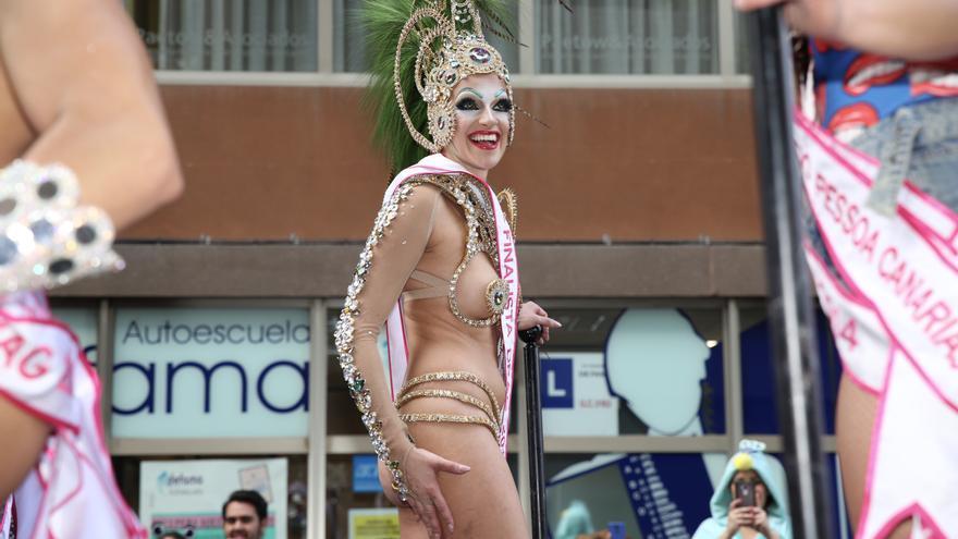 Cabalgata del Carnaval de la Magia de Las Palmas de Gran Canaria. (ALEJANDRO RAMOS)