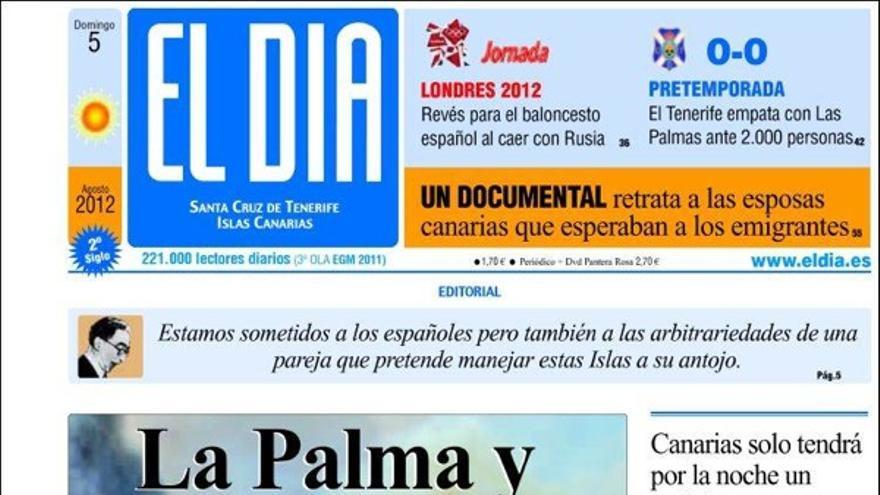 De las portadas del día (5/08/2012) #4