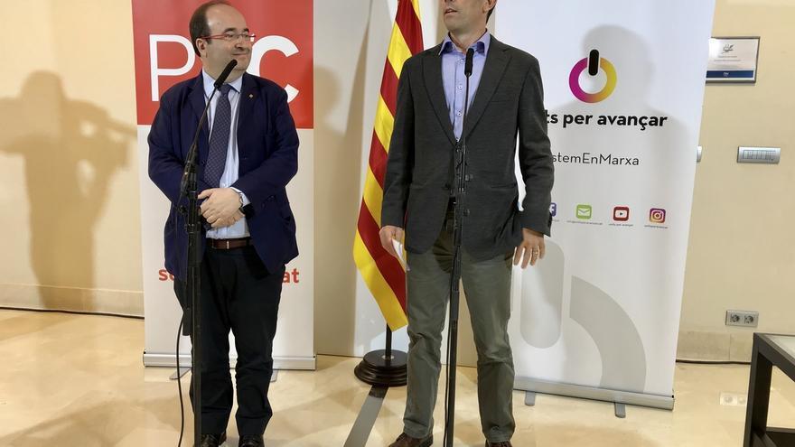 """PSC y la antigua Unió sellan una alianza """"por el 'seny' y el catalanismo"""""""