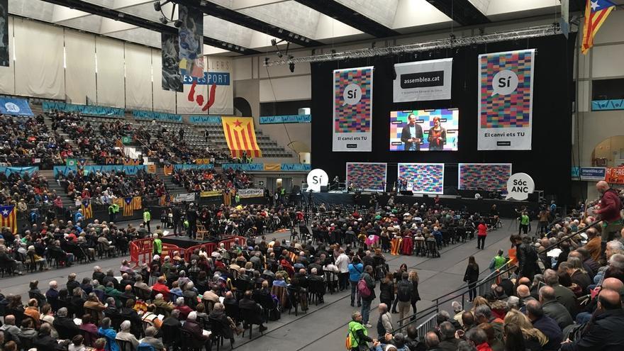 La ANC celebrará la Diada de 2017 en el cruce entre paseo de Gràcia y la calle Aragó