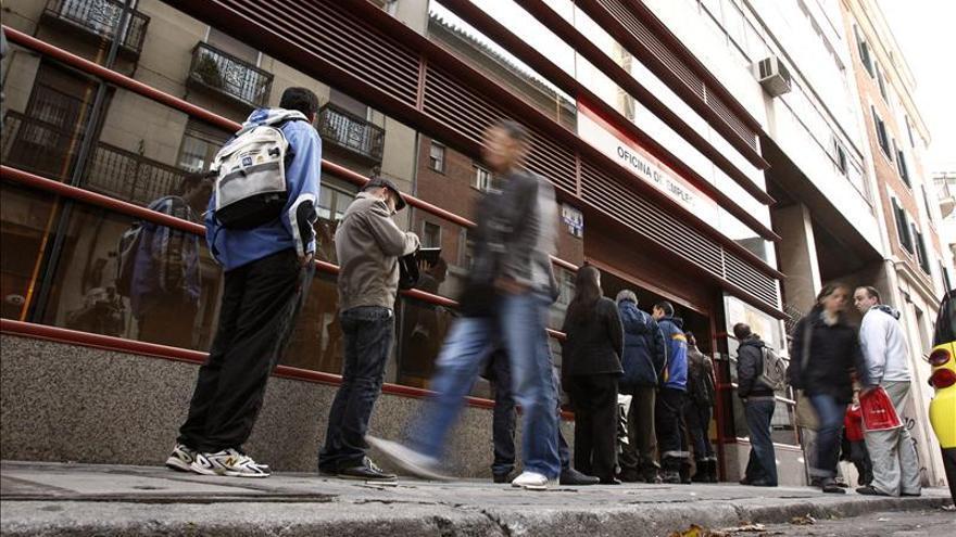 Una oficina de empleo en Madrid. EFE