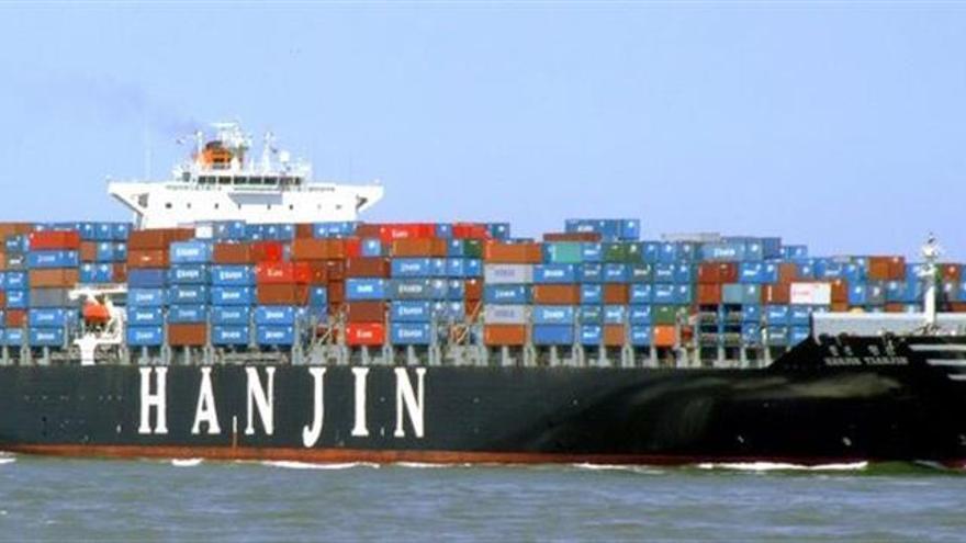 Se desploma en bolsa la naviera surcoreana Hanjin tras suspender pagos