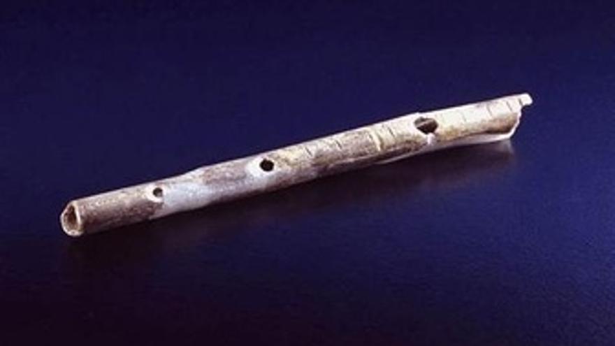 Flauta De Hace 43.000 Años