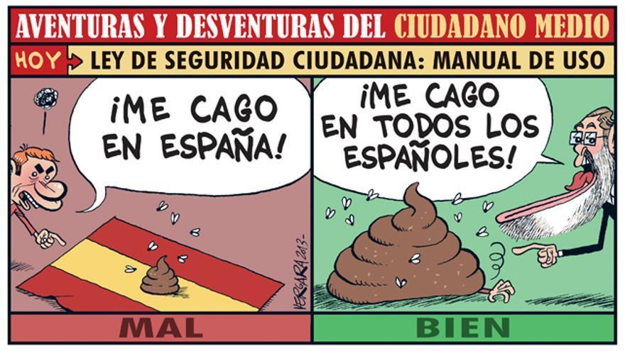 Ofensas a España