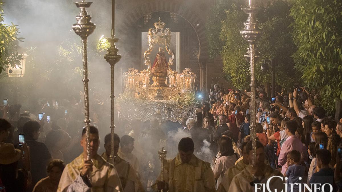 Procesión de Nuestra Señora de la Fuensanta en 2019