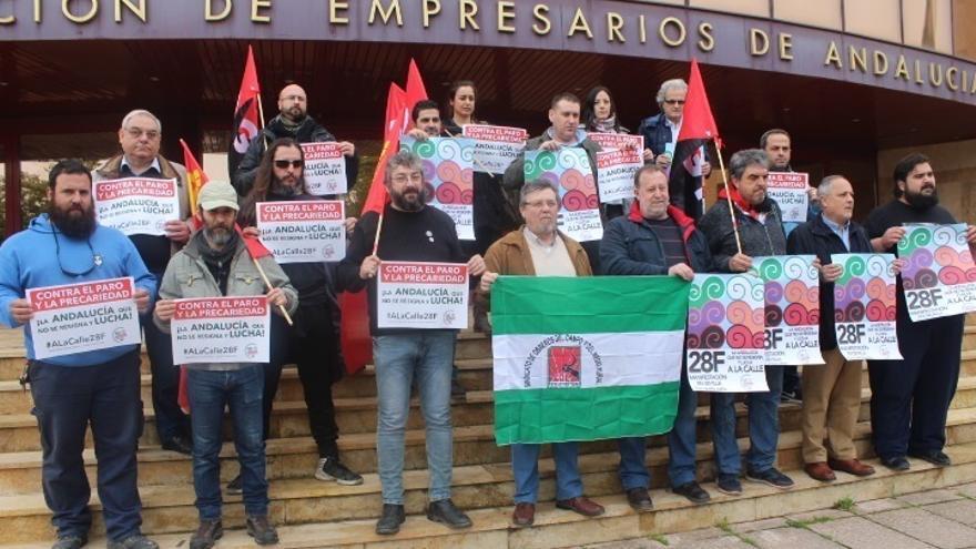 """La Marcha de la Dignidad llama a un 28F """"de lucha"""" por los servicios públicos y los derechos laborales"""