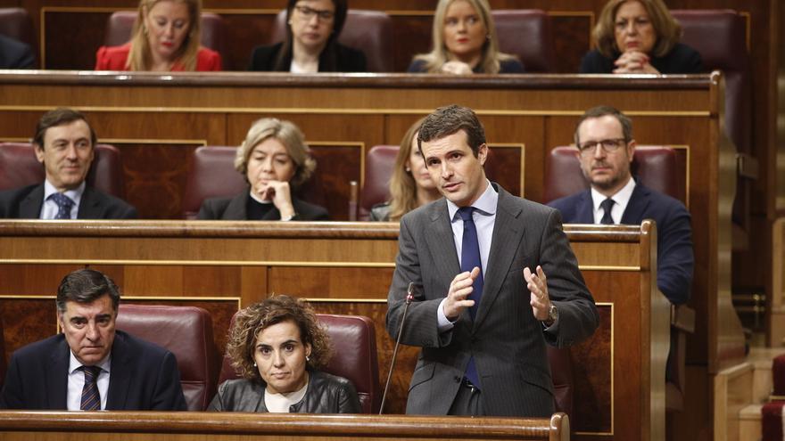 Casado defenderá la enmienda de totalidad del PP a los PGE con el juicio del 'procés' y el relator como telón de fondo