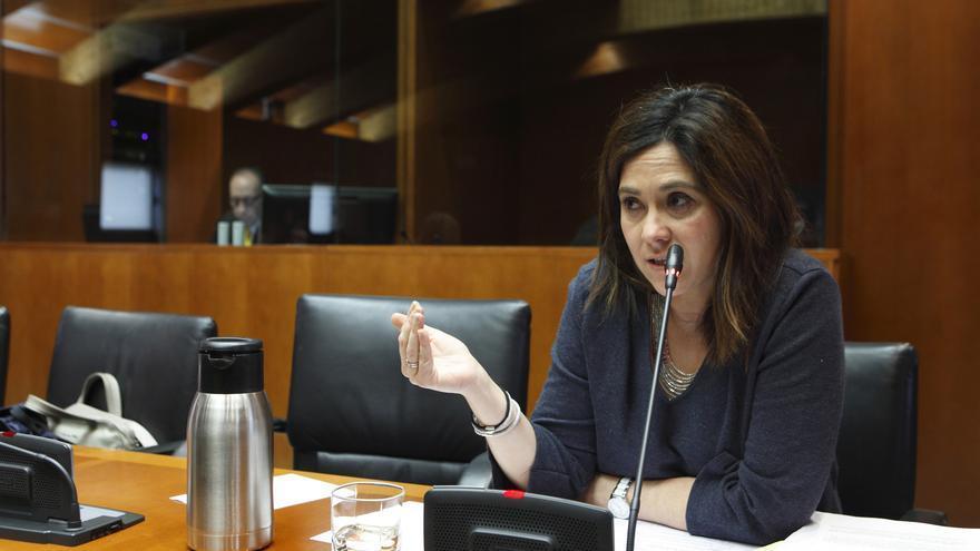 La ex delegada territorial de C's Aragón y actual portavoz, Susana Gaspar.